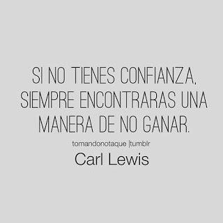 Frase muy buena de Carl Lewis